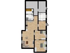Inviso #295432 / FloorPlan #87112 - Inviso #295432 / FloorPlan #87112 made with Floorplanner