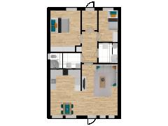 Inviso #296072 / FloorPlan #87135 - Inviso #296072 / FloorPlan #87135 made with Floorplanner