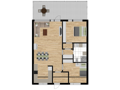 Inviso #295672 / FloorPlan #87111 - Inviso #295672 / FloorPlan #87111 made with Floorplanner