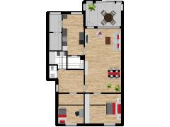 Inviso #295489 / FloorPlan #87168 - Inviso #295489 / FloorPlan #87168 made with Floorplanner