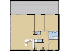Baden Powelllaan 1149  - Baden Powelllaan 1149  made with Floorplanner