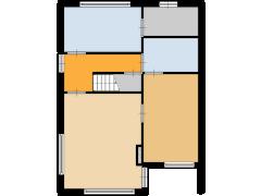 Hoefslag 29-31, Druten - Hoefslag 29-31, Druten made with Floorplanner