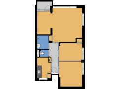 Tulpstraat 11, Rijswijk - Tulpstraat 11, Rijswijk made with Floorplanner