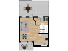 Inviso #296079 / FloorPlan #87422 - Inviso #296079 / FloorPlan #87422 made with Floorplanner