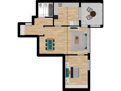 Inviso #295833 / FloorPlan #87429 - Inviso #295833 / FloorPlan #87429 made with Floorplanner