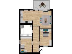 Inviso #295074 / FloorPlan #87436 - Inviso #295074 / FloorPlan #87436 made with Floorplanner