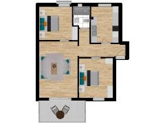 Inviso #295687 / FloorPlan #87412 - Inviso #295687 / FloorPlan #87412 made with Floorplanner