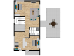 Inviso #294917 / FloorPlan #87407 - Inviso #294917 / FloorPlan #87407 made with Floorplanner