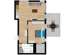 Inviso #295565 / FloorPlan #87399 - Inviso #295565 / FloorPlan #87399 made with Floorplanner