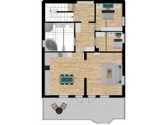 Inviso #288670 / FloorPlan #87435 - Inviso #288670 / FloorPlan #87435 made with Floorplanner