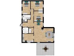 Inviso #294432 / FloorPlan #87401 - Inviso #294432 / FloorPlan #87401 made with Floorplanner