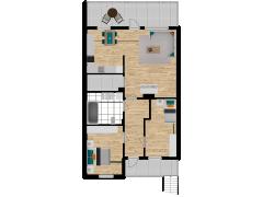 Inviso #288122 / FloorPlan #87414 - Inviso #288122 / FloorPlan #87414 made with Floorplanner