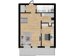 Inviso #296251 / FloorPlan #87416 - Inviso #296251 / FloorPlan #87416 made with Floorplanner