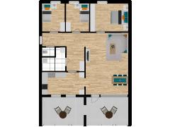 Inviso #295933 / FloorPlan #87424 - Inviso #295933 / FloorPlan #87424 made with Floorplanner