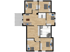 Inviso #295581 / FloorPlan #87406 - Inviso #295581 / FloorPlan #87406 made with Floorplanner