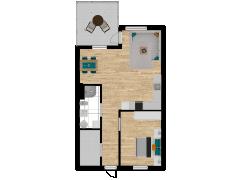 Inviso #295886 / FloorPlan #87421 - Inviso #295886 / FloorPlan #87421 made with Floorplanner