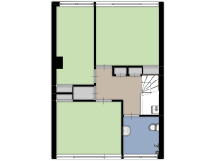 Zjoekowstraat 94, Doetinchem - Zjoekowstraat 94, Doetinchem made with Floorplanner