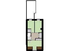 Oude-Molenstraat 42, Assen - Oude-Molenstraat 42, Assen made with Floorplanner