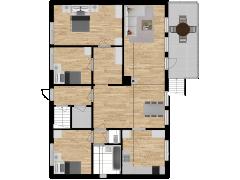 Inviso #296390 / FloorPlan #87438 - Inviso #296390 / FloorPlan #87438 made with Floorplanner