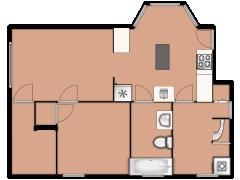 3711 West Palmer Street - 3711 West Palmer Street made with Floorplanner