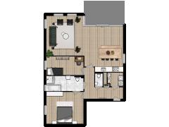 Polderstaete appartement 7 - Polderstaete appartement 7 made with Floorplanner