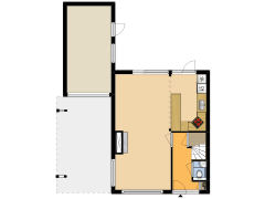 36246 - VEK - De Schans 74 - Hoornaar - 36246 - VEK - De Schans 74 - Hoornaar made with Floorplanner
