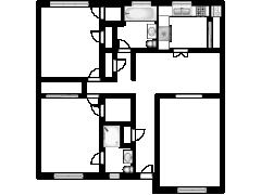 39 Fieldstone Dr Unit E, Hartsdale, NY 10530 - 39 Fieldstone Dr Unit E, Hartsdale, NY 10530 made with Floorplanner