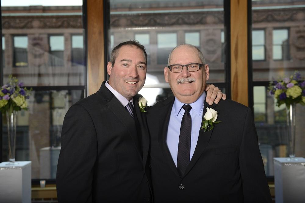Dan Parker Sr. and Dan Parker Jr.
