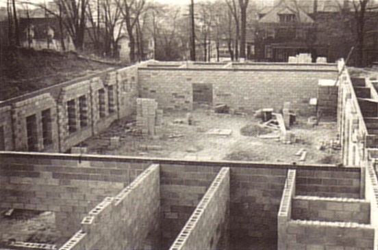 The Construction of St. Patrick Church Basement