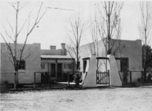Mine Manager's House in Pearce AZ circa 1935_Smith home no 3 in Pearce
