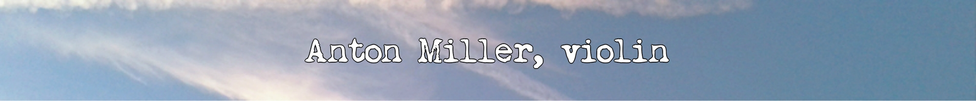 Anton Miller