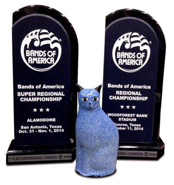 CTJ's 2014 Bands of America trophies