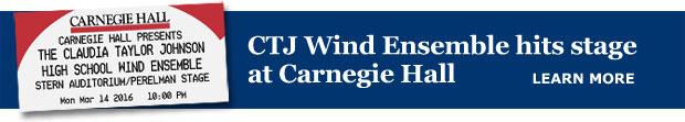 CTJ at Carnegie Hall