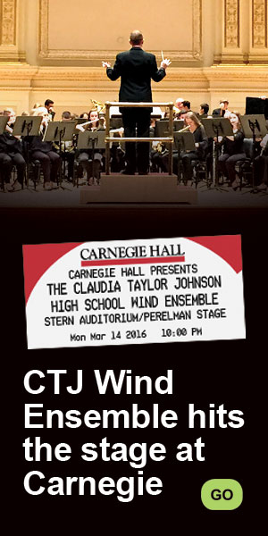 CTJ Wind Ensemble Performs at Carnegie Hall