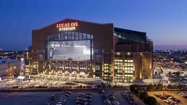 Lucas Oil Stadium in Indianapolis