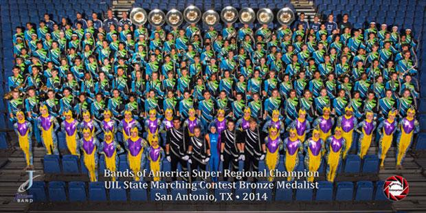 2014 CTJ Marching Band