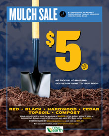CTJ Mulch Sale and Fundraiser