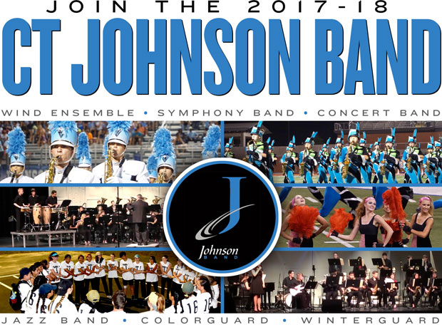 Join the 2017-18 CT Johnson Band
