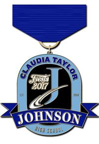 CTJ Fiesta 2017 Medal