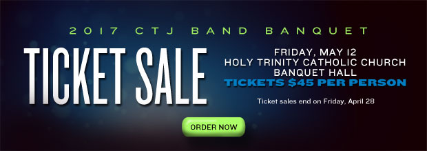 2017 CTJ Band Banquet Ticket Sale