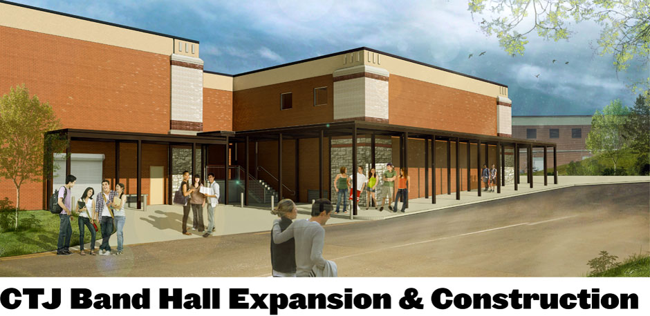 Construction and expansion of the CTJ Band Hall
