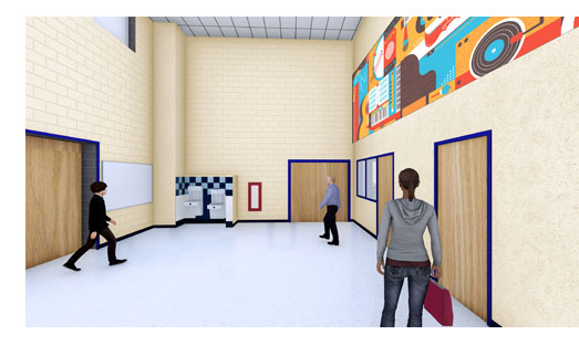 New CTJ Band Hall Rendering