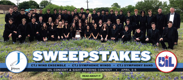 CTJ Bands Earn Sweepstakes Awards
