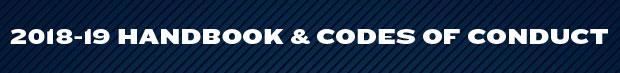 2018-19 Handbook and Codes of Conduct