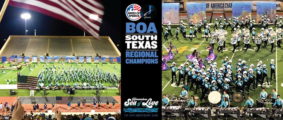 Claudia Taylor Johnson wins the BOA South Texas Regional