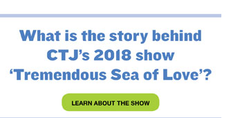 What is the story behind CTJ's show Tremendous Sea of Love
