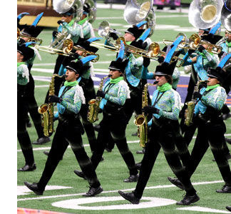 CTJ band finished seventh in the UIL 6A State Marching Contest