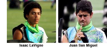 Isaac LaVigne and Juan San Miguel