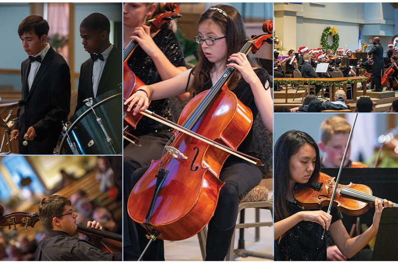 Youth Orchestra kids