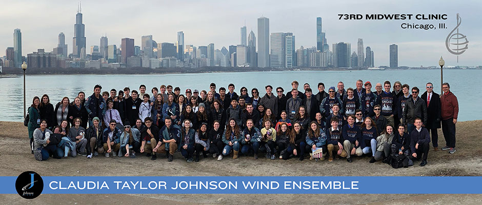 CTJ Wind Ensemble at the 73rd Midwest Clinib